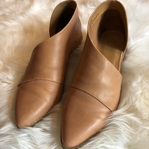 Trendy Tan Cutout Ankle Booties